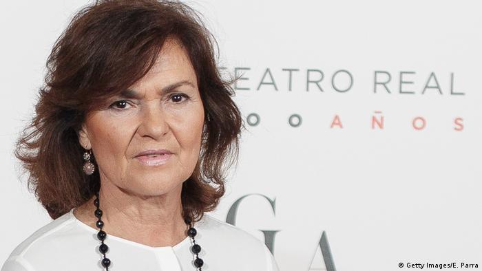 Carmen Calvo (Getty Images/E. Parra)