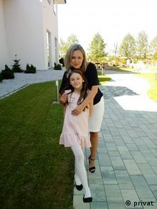 Malgorzata Greber mit ihrer Tochter Martyna