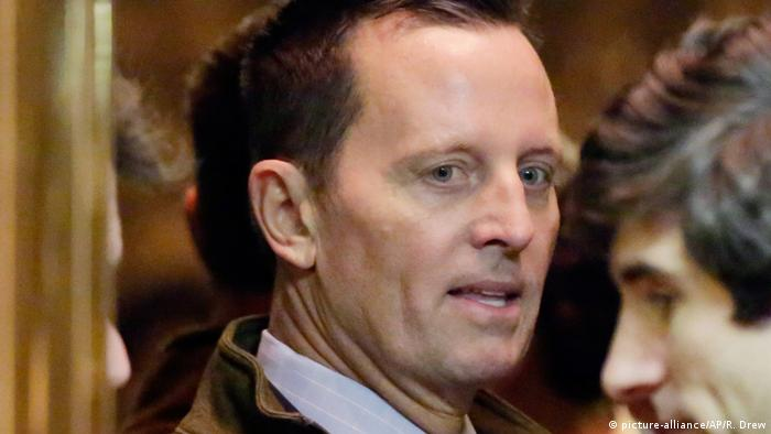 USA New York - Richard Grenell am Trump Tower (picture-alliance/AP/R. Drew)