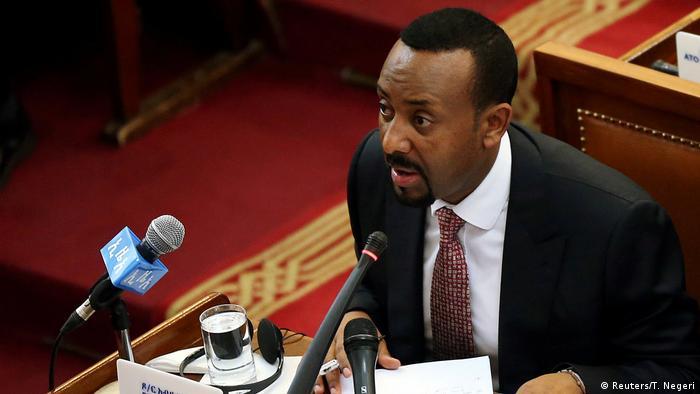 Äthiopien Addis Abeba Premierminister Abiy Ahmed