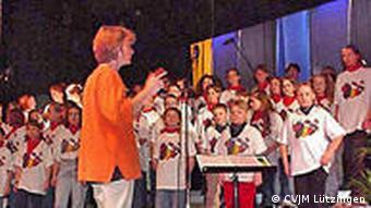 Konzertprobe (Foto: CVJM Lützingen)