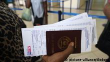 Afrikanischer Reisepass