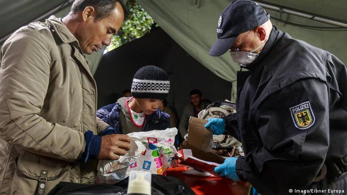 Deutschland Grenzkontrolle Flüchtlinge