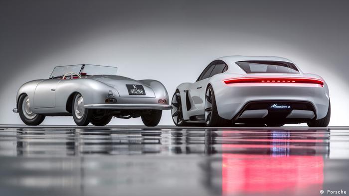Porsche und Elektroporsche ( Porsche)