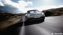 Porsche auf der Straße