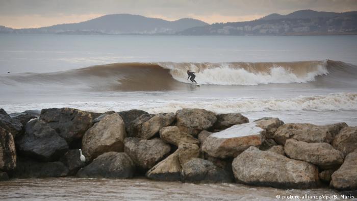 Spanien Mallorca Müllproblem in der Bucht von Palma