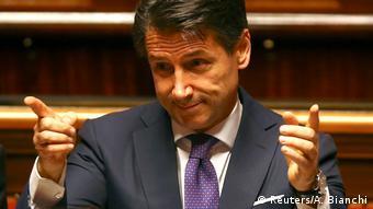 Πρεμιέρα για τον νέο Ιταλό πρωθυπουργό Τζουζέπε Κόντε