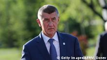 Tschechien Minsterpräsident Andrej Babis (Getty Images/AFP/V. Donev)