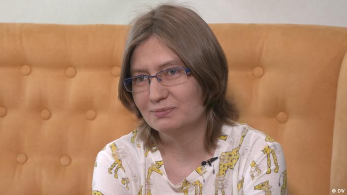 Interview mit , schwester von Oleg Sentsow (DW)