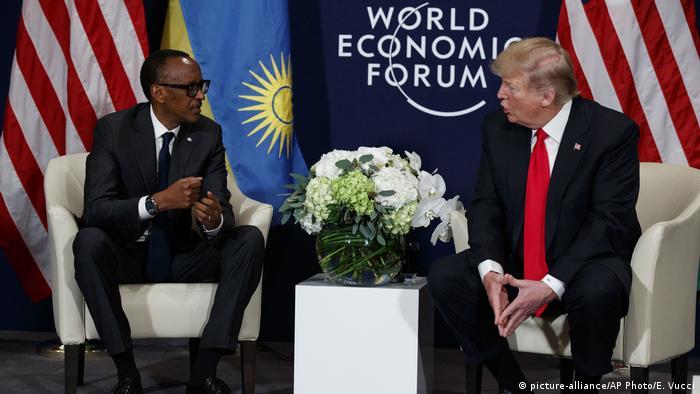 Donald Trump und Paul Kagame