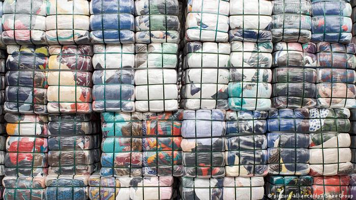 Textil-Recycling GmbH in Bitterfeld-Wolfen (picture-alliance/dpa/Soex Group)