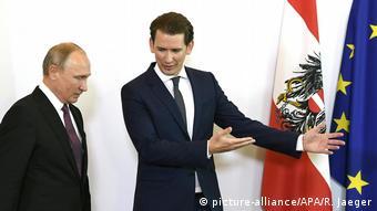 Österreich Putin zu Besuch (picture-alliance/APA/R. Jaeger)