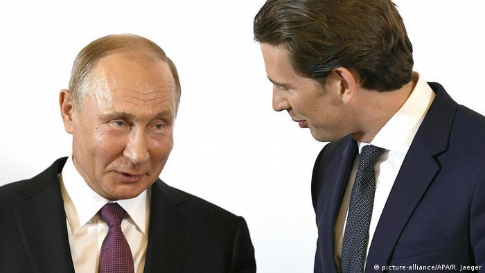 Владимир Путин и Себастиан Курц