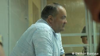 Борис Герман в зале суда