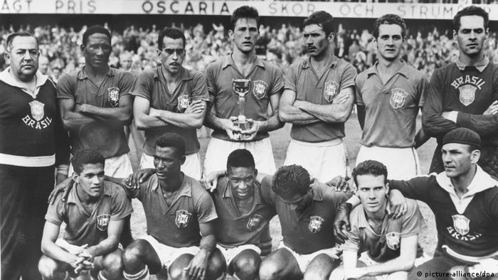 Fußball Weltmeister 1958 Brasilien (picture-alliance/dpa)
