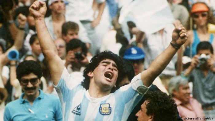football star Diego Maradona (picture-alliance/dpa)
