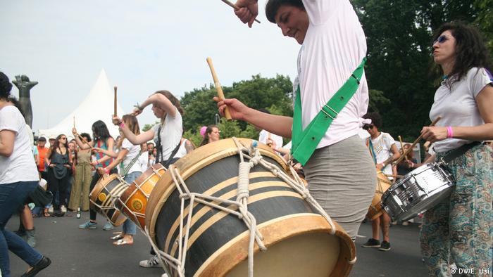 Ritmo brasileño en el festival medioambiental en Berlín