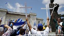 USA OAS Nicaragua Protest