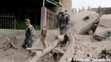 Guatemala Vulkanausbruch