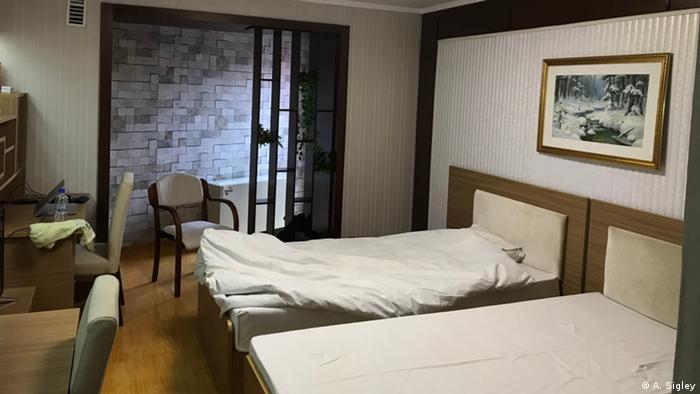 Schlafsaal für ausländische Studenten an der Kim-il-Sung-Universität in Pjöngjang (A. Sigley)