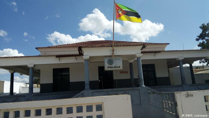 Mosambik Polizeistation in Nampula