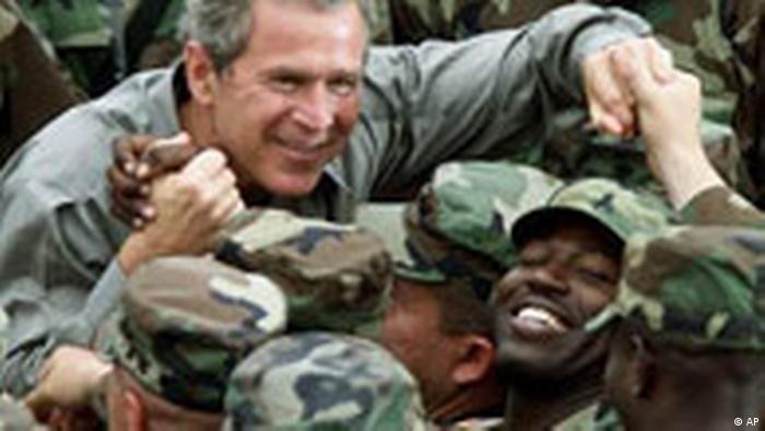 Bush in Kosovo