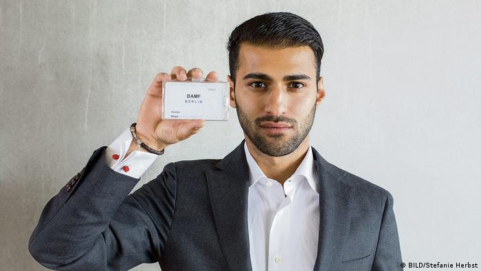 BILD reporter Abdullah Khan