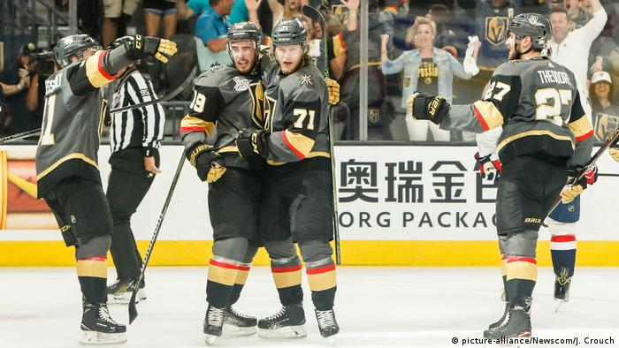 NHL Eishockey Capitals vs Golden Knights (picture-alliance/Newscom/J. Crouch)