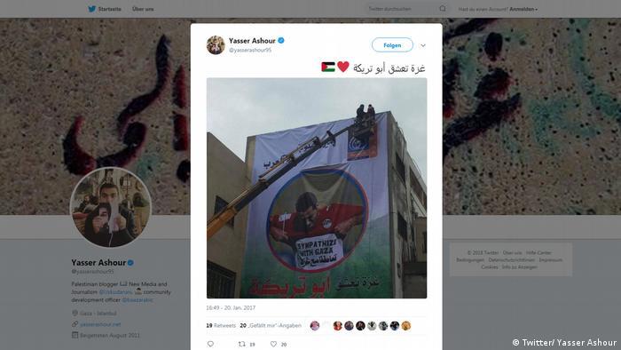 Screenshot: Tweet Yasser Ashour (Twitter/ Yasser Ashour)
