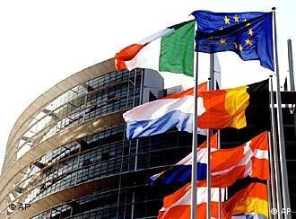 Wann wehen wohl hier auch die Flaggen Bulgariens und Rumäniens?