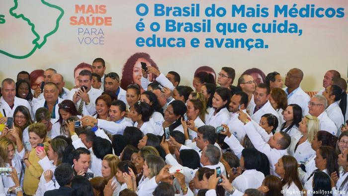 Brasilien Neue Etappe des Gesundheitsprogramms Mehr Ärzte (Agência Brasil/José Cruz)