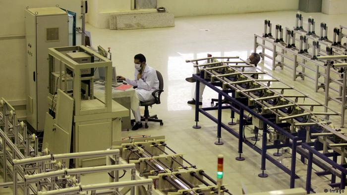 На заводе по переработке урана в Исфахане (Фото из архива)