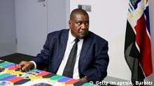 Mosambik: Ossufo Momade, Chef der größten Oppositionspartei RENAMO (Getty Images/A. Barbier)