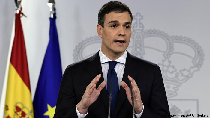 Spanien Madrid Pedro Sanchez stellt neues Kabinett vor (Getty Images/AFP/J. Soriano)