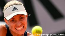 Frankreich Tennis French Open - Angelique Kerber