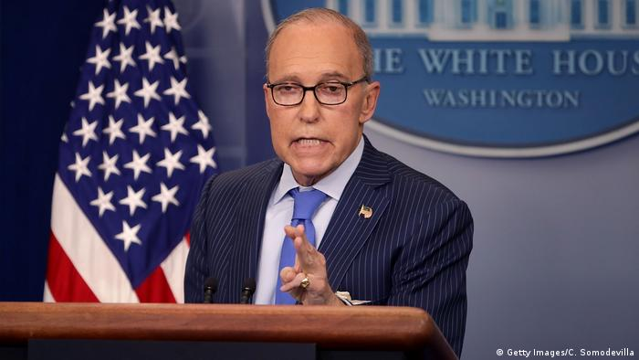 USA PK Larry Kudlow (Getty Images/C. Somodevilla)