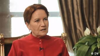 H επικεφαλής του τουρκικού εθνικιστικού «Καλού Κόμματος» Μεράλ Ακσενέρ
