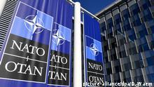 NATO Hauptquartier in Belgien Brüssel