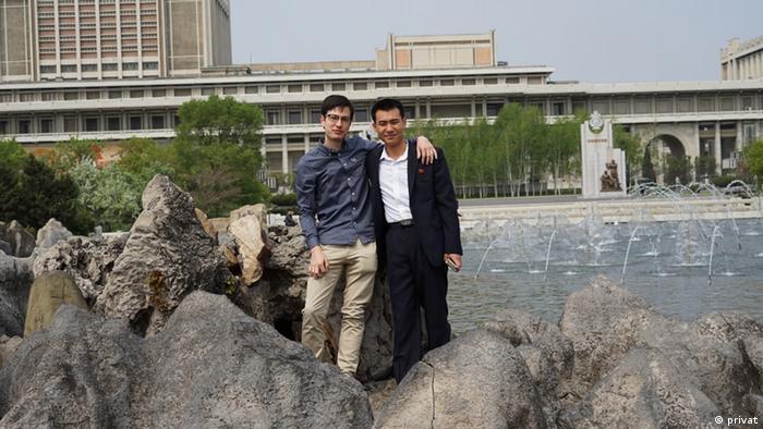 Alek Sigley, australischer Austauschstudent in Pjöngjang (privat)