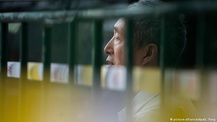 chinesische Hochschulaufnahmeprüfung (picture-alliance/dpa/L. Yong)