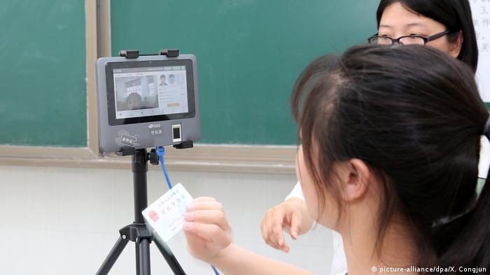 chinesische Hochschulaufnahmeprüfung (picture-alliance/dpa/X. Congjun)