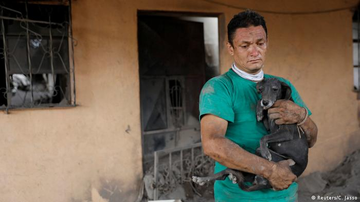 Bildergalerie Guatemala Vulkan (Reuters / C. Jasso)