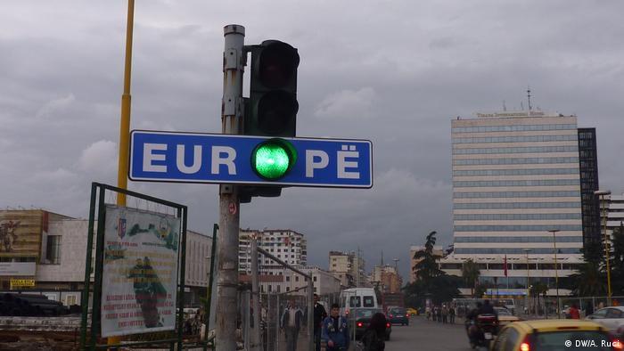 Liberalisierung der EU-Visa für Albanien Tirana Feierlichkeiten