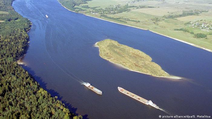 Die Wolga in Russland (picture-alliance/dpa/S. Metelitsa)