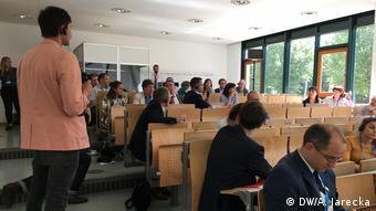 Polscy i niemieccy dziennikarze na warsztatach w Stralsundzie
