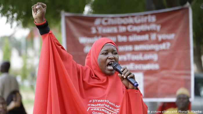 Nigerian woman Aisha Yusuf taking on Boko Haram
