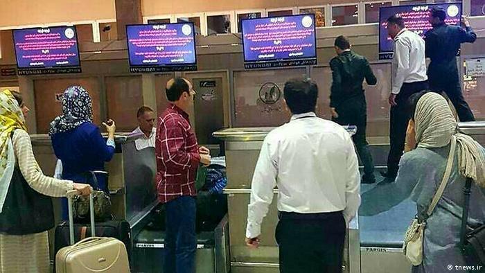 Hackerangriff auf Flughafen in Iran (tnews.ir)
