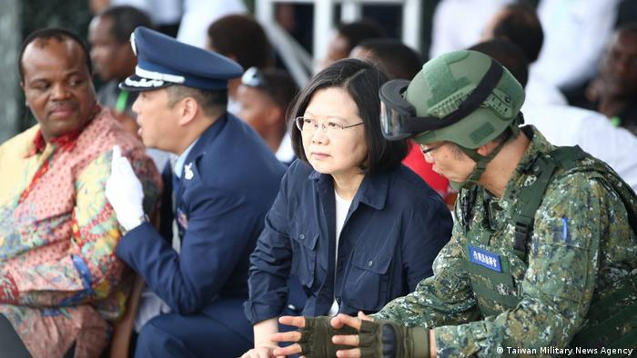 Jährliche Militärübung Han Kuang in Taiwan (Taiwan Military News Agency)