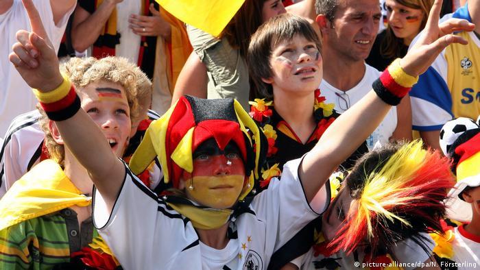 ЧМ по футболу – юные фанаты