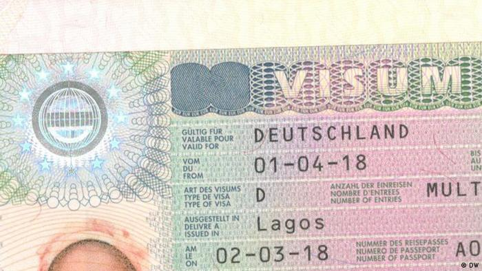 Deutsche dating Visa